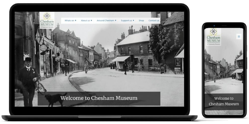 Chesham museum home page